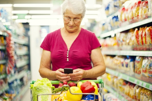 Grocery shopping for older adults
